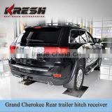 KRESH Brand SUV 4X4 black trailer hitch receiver for grand cherokee, made of steel with black color from Kaizhi manufaturer                                                                         Quality Choice