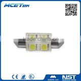 High brightness auto lamp OEM blister package 5050 4SMD 31/36/39mm led festoon lighting