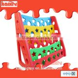Funny Children plastic bookshelf at factory price