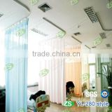 polyester flame retardant privacy used hospital curtains