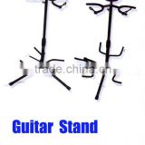 Adjustable Tubular Acoustic/ Electric Double/ Three Guitar Stand Holder - rubber padding