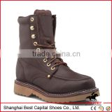 Winter martin boots with fur lining, Goodyear work shoes for man, mens fashion safety boot for working protection