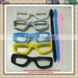 Factory custom Make Silicone Swimming Glasses Goggles Frame