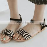 Multifunctional flat sandals for girls leather flat sandals for men for wholesales XT-DA0755