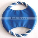 2015 hot sell 18CM promotion fabric dog frisbee