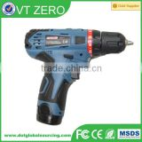 Factory Price 12V Cordless Drill Driver Interchangeable Electric Compact Driver Drill Machine Hammer Drill