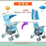simple light weight portable pram baby stroller baby buggy wheels