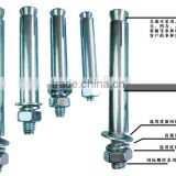 made in china zinc plated sleeve anchor bolts