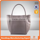 4450- 2016 Classic original design high quality genuine leather shopping tote bag wholesale alibaba