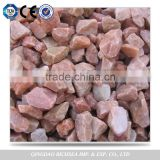 Competitive Price Red Polished Tumbled Pebble Stone                                                                         Quality Choice