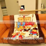 2015 hot sale knitted baby blanket bamboo baby swaddling blanket