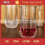Personalized tasting crystal whiskey glass tumbler