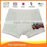 Boy's basic best selling cotton spandex boy trunk boxer short