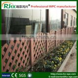 Wood-plastic composite decking material for outdoor fencing/modern gates and fences with waterproof and moisture-proof