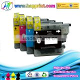 Factory wholesale ink printer cartridges for Brother LC123 refill ink cartridge for Brother