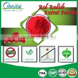 Food Grade Safety Red Radish Extract Powder