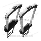 Extendable/pull/alloy trolley handle parts for suitcase