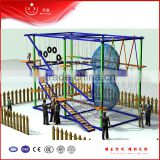 china indoor rope nets playground climb wall