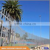 Factory hot dipped galvanized and powder coated ornamental backyard metal fence in Industry (Tread Assurance)