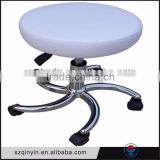 Fashion style salons Pu / PVC metal and gas spring reasonable price hairdressing salon chairs