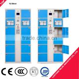 Factory direct supply fingerprint locker electronic component storage cabinet small doors metal electronic safe locker