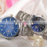 hot seller 2016 cheap couple watches wholesale stainless steel men women watch