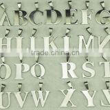 High quality factory custom stainless steel alphabet letter charm                                                                         Quality Choice