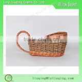 vintage Wicker Basket Wine Bottle Holder Lambic decoration Beer Serving Basket for gift                                                                         Quality Choice