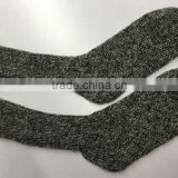 Adult 30%Wool70%Nylon Blend yarn Melange Knitted Men's Indoor Floor Socks