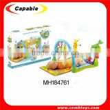 multi activity play gym baby play mat with sound