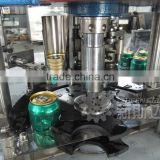 Automatic plastic can seaming machine