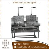 Latest Product in Market Gas Waffle Maker with Replaceable Tray