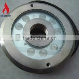 IP68 RGB 9*3W Under water led light 316 stainless steel