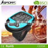 Wireless exercise bike computer waterproof bright LED display cycling speed distance calorie