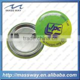 promotional safe pin printing custom button badge