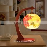 Wedding Gift Mother Day's Gift Valentines Gift Antique Table Lamp Jingdezhen Ceramic Wood Craft Bedside LED E27 220v 110v Lamp