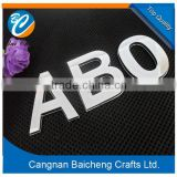 letter, digital and animal etc. shape car logo made of ABS is cheap and cute for cars in good price