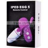 Purple/Pink/Blue control wireless massager,Silicone ABS Remote Control Vibrating Eggs,sex toy female vibration