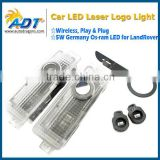 Wireless No Drill Type Led Laser Door Shadow Light Welcome Projector Light Led Car Door Logo light For BMW auto parts