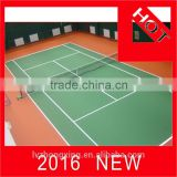 Brand new anti slip floor for court/tennis court flooring/outdoor basketball court flooring tennis court coating material