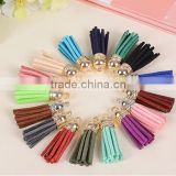 Artificial Leather Velvet Terylene Tassel Pendant for jewerly bags chains