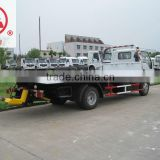 Light Duty ISUZU 5 Ton slide flatbed road wrecker tow truck for sale from China manufacturer