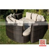 Manufacturer wholesale Outdoor Modern Rattan wicker Garden set / Outdoor wicker Furniture