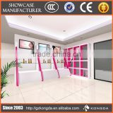 nail bar kiosk for manicure and kiosk display,pearl stand