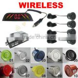 Wireless LED Display Car 4 Parking sensor auto Assistance System Reversing Backup Radar