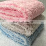 Super Soft Knitted Macaroon Plush Baby Blanket Taiwan