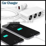 6.8A 3 Socket Cigarette Lighter 4-In-1 Balance Lipo Li-Ion Charger