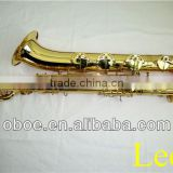Woodwind musical instrument gold lacquer Eb brass professional baritone saxophone--336G