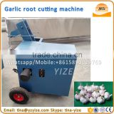 Fresh garlic root cutting machine,fresh garlic head tail cutting machine,fresh onion stem cutter