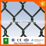 Woven galvanized link fence netting, basketball fence netting
